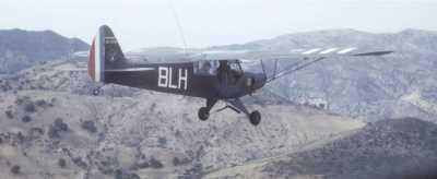 L-18C au dessus de TLEMCEN  en 1961