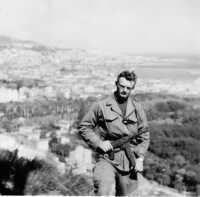 Sapeur Michel VINCENT lors d'une patrouille au ravin de la femme sauvage.  Photo M. Vincent