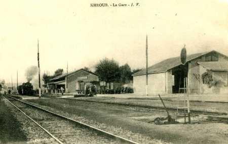 LE KROUBS - L'ancienne GARE