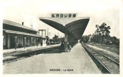 LE KROUBS - La nouvelle Gare