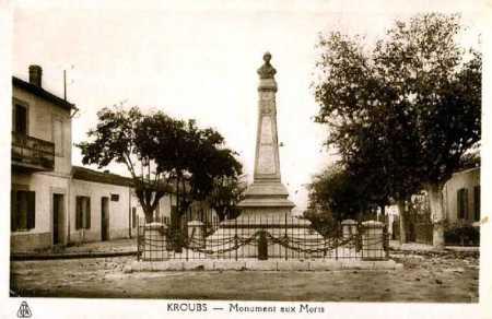 LE KROUBS - Le Monument aux Morts