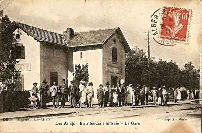 LES ATTAFS - La GARE