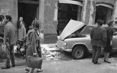 ALGER - 1962 - Un attentat OAS