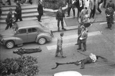 ALGER le 26 Avril 1962 Attentat OAS