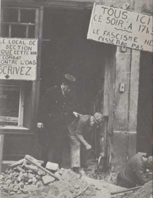 Plasticage du local du Parti Communiste d ISSY les MOULINEAUX