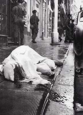 une rue d'Alger en 1962