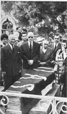 enterrement d'un membre de l'OAS