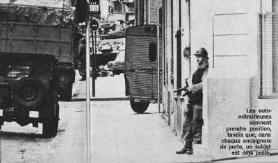 ORAN bataille de rues entre  OAS et Gendarmes