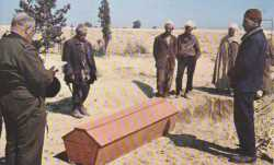 Enterrement d'un Harki