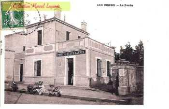 LES ISSERS - La Poste