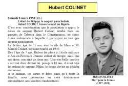 Sergent Hubert COLINET