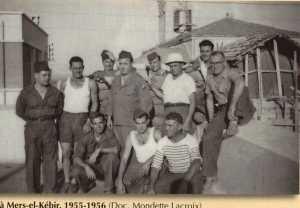 UT - MERS-EL-KEBIR - 1955 / 1956