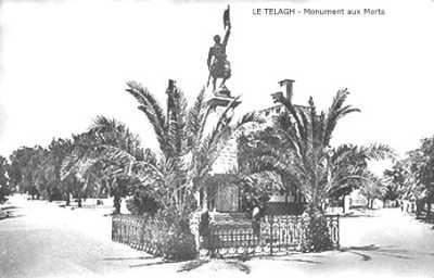 LE TELAGH - Le Monument aux Morts