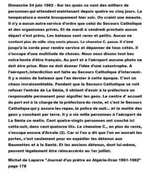 Journal de Michel De LAPARRE