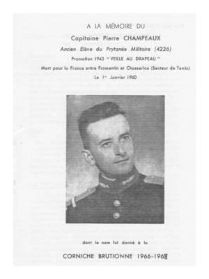 Highlight for Album: Livret à la mémoire du  Capitaine Pierre CHAMPEAUX