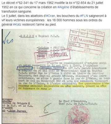 22 Mai 1962 Les Abattoirs FLN d'ORAN