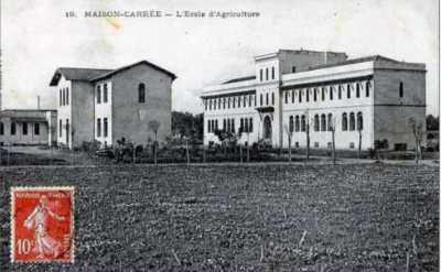 MAISON-CARREE - L'Ecole d Agriculture