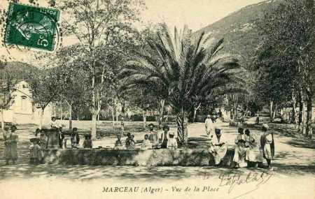 MARCEAU - La Place en 1900