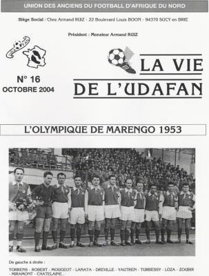 MARENGO - 1953 - Football
