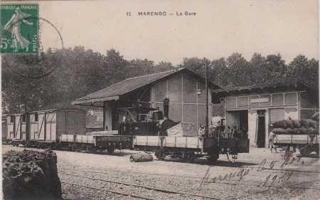 MARENGO - La Gare