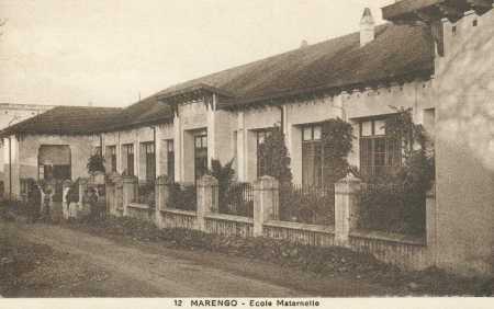 MARENGO L'Ecole Maternelle