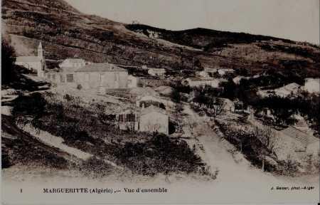 MARGUERITE - Vue d'ensemble (carte ancienne)