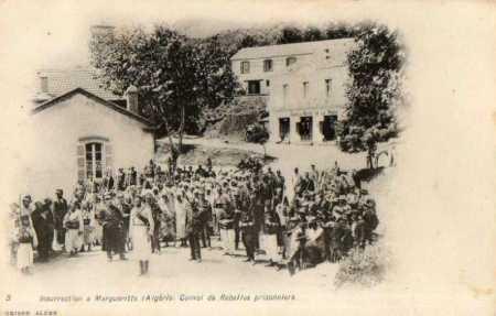 MARGUERITE - Convoi de rebelles prisonniers