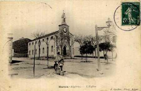 MARNIA l'Eglise en 1907