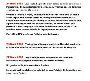 24 au 27 Mars 1960