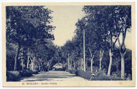 MASCARA - Le Jardin Public