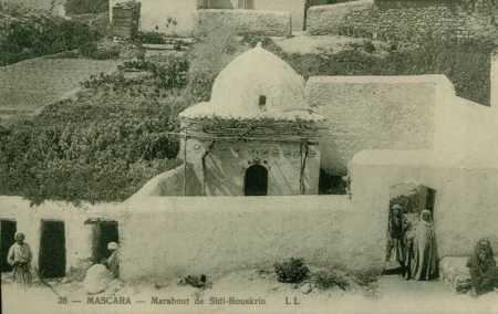 MASCARA Le Marabout Sidi-Bouskrin