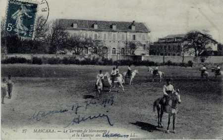 MASCARA La Caserne des Tirailleurs en 1913