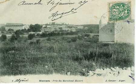 MASCARA en 1907