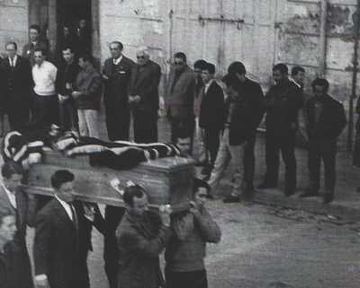 MERS-EL-KEBIR - 3 Mars 1962 Enterrement de la Famille ORTEGA