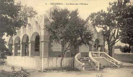MECHERIA - Le Mess des Officiers