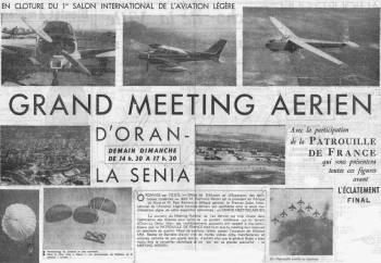 Highlight for Album: 1er au 9 Octobre 1960  Meeting Aérien d'ORAN