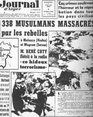Photo-titre pour cet album: 28 Mai 1957 - MASSACRE de MELOUZA