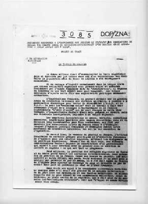 Rapport sur le massacre du village de MELOUZA