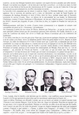 Bachaga BOUALEM Mohamed LARADJI Marc LAURIOL Pierre PORTOLANO