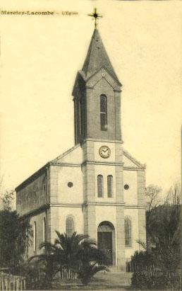 MERCIER-LACOMBE - L'Eglise