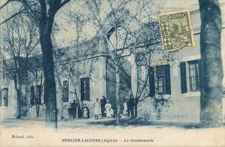 MERCIER-LACOMBE - La Gendarmerie