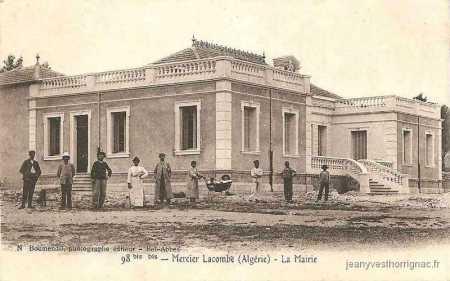 MERCIER-LACOMBE - La Mairie