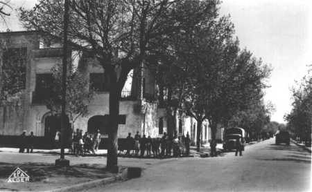MERRCIER-LACOMBE - Hotel du carrefour - Route de MASCARA