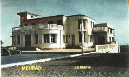 MEURAD - La Mairie en 1875