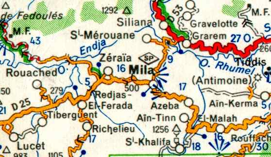 Carte Algerie Mila.Slideshow For Album Mila