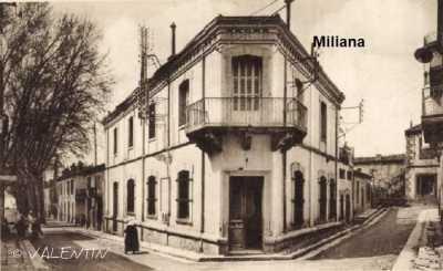 MILIANA La Place de l'Horloge
