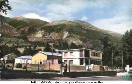 MILIANA - L'Ecole Professionelle