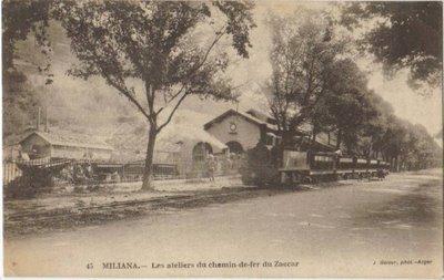 MILIANA - Les ateliers du chemin de fer