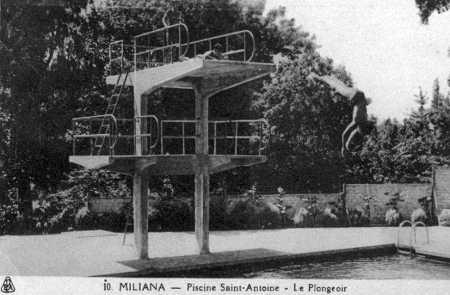 MILIANA - La Piscine St Antoine