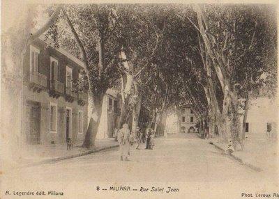 MILIANA - La rue Saint Jean
